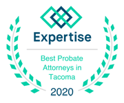 Expertise, Best Probate Attorneys in Tacoma 2020 badge